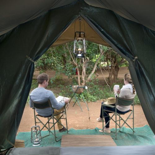 Pafuri walking trails tented safari accommodation