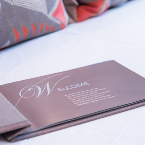Cape Town guest house welcome brochure
