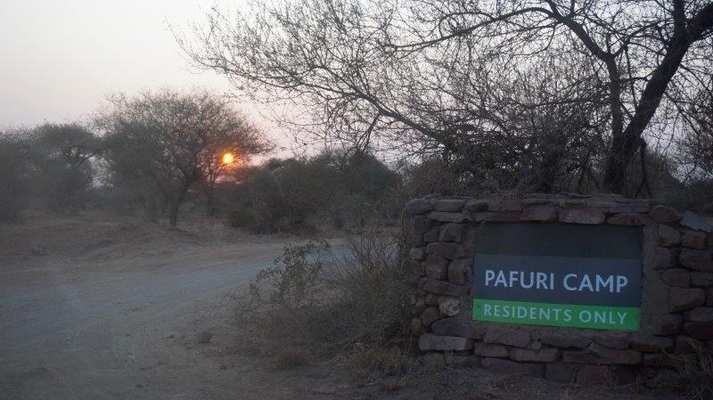 Pafuri Camp Entrance