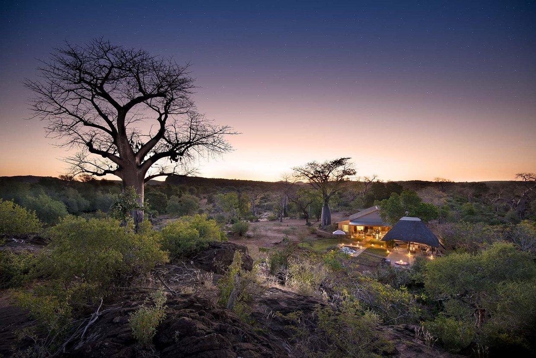 Baobab Hill Bush House View