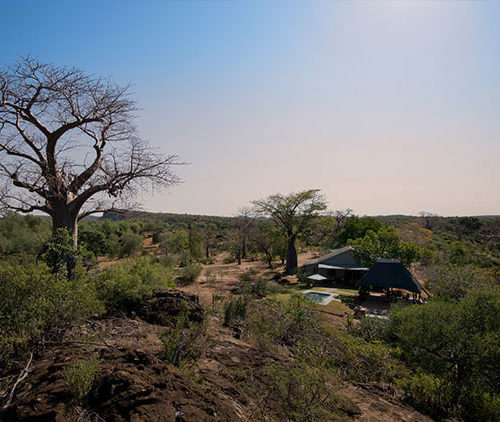 Pafuri camp self catering bush house view