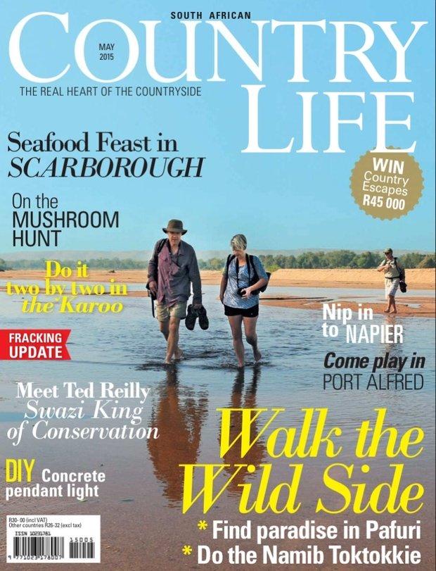 RETURNAfrica Pafuri in SA Country Life magazine